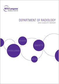 Quality 2012 Report of the Department of Radiology