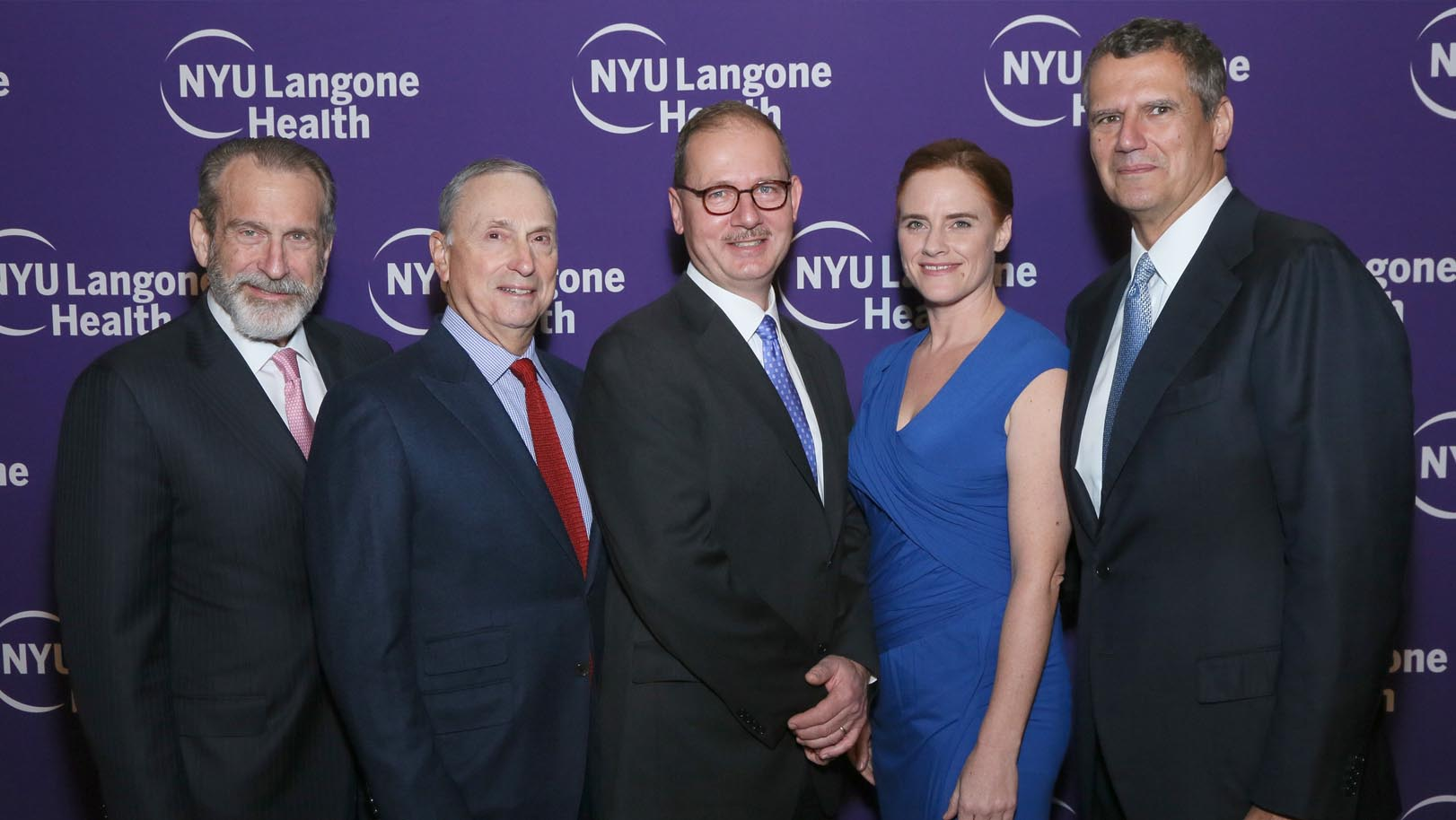 The 2017 NYU Langone Health Musculoskeletal Ball Honoring Patrick A. Meere, MD, Sophie Nicholson, and Tarek Sherif.