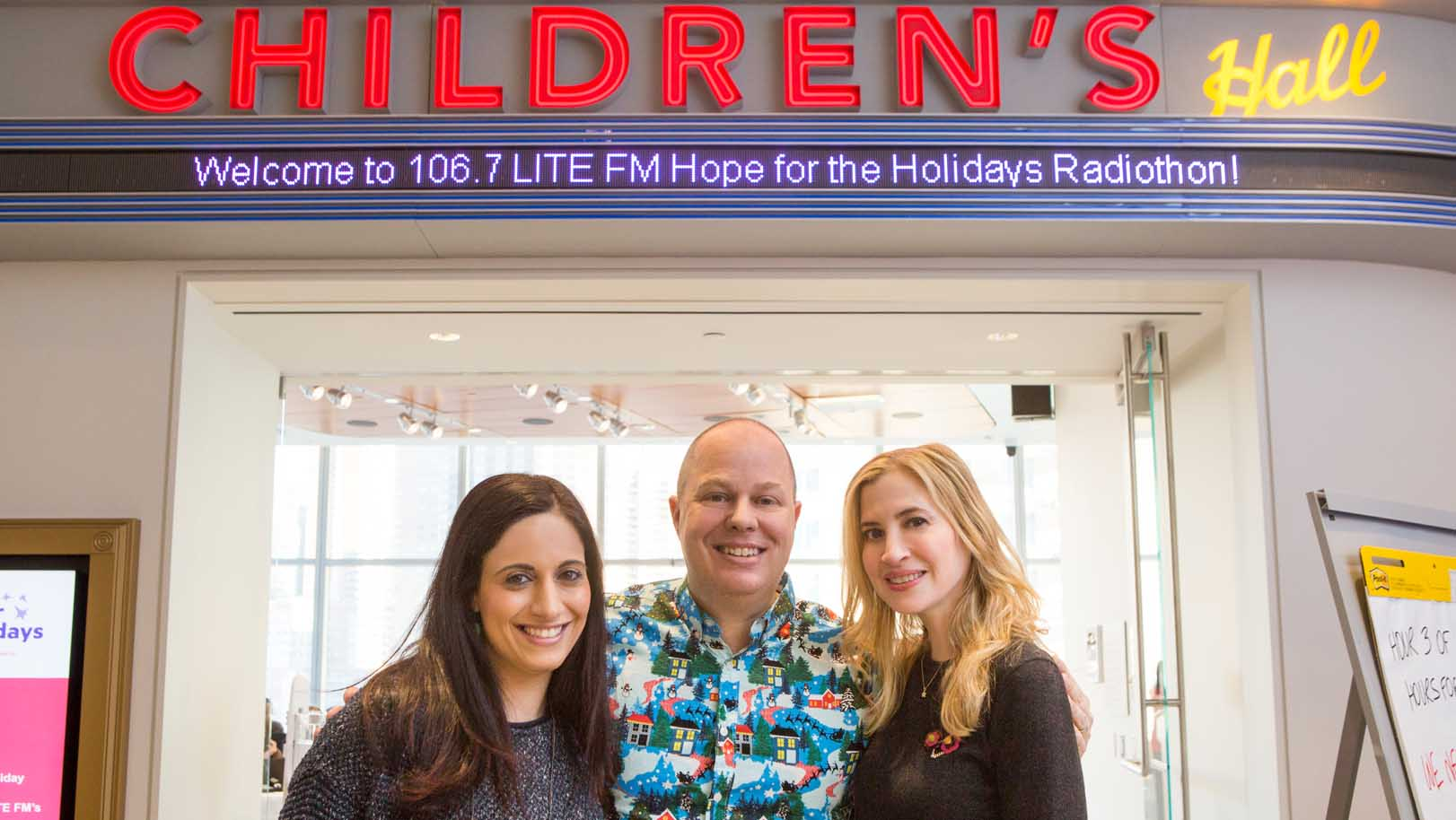 Millions of listeners tuned in to hear inspirational stories of hope and healing as told by children, their families, and care team members at Hassenfeld Children's Hospital.