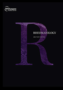 NYU Langone Rheumatology 2014 Year in Review