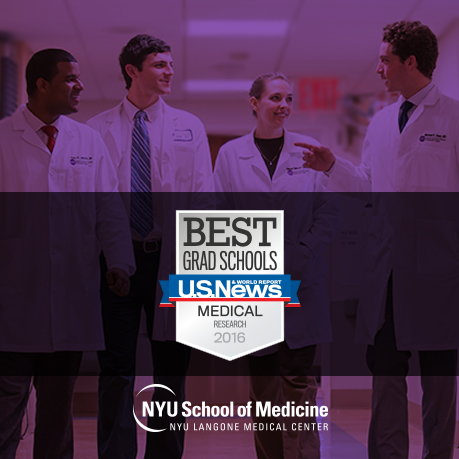 NYU Langone Medical Center: NYU School of Medicine Ranked Among Top 15 in Nation