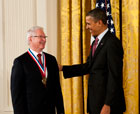 Jan Vilcek, MD, PhD, Honored At White House Awards Ceremony