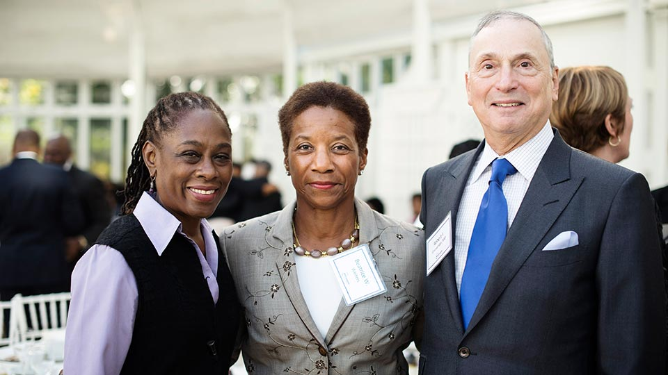 Chirlane McCray, Beatrice W. Welters, and Dean and CEO Dr. Robert I. Grossman