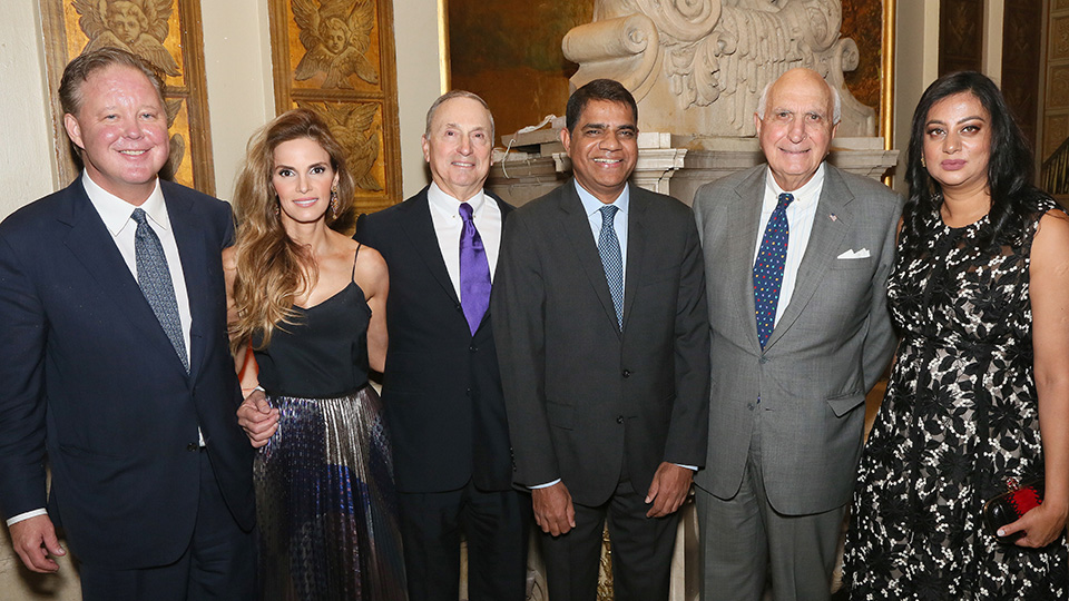 Dean and CEO Dr. Robert I. Grossman and Ken Langone with Honorees at KiDS of NYU Langone Springfling