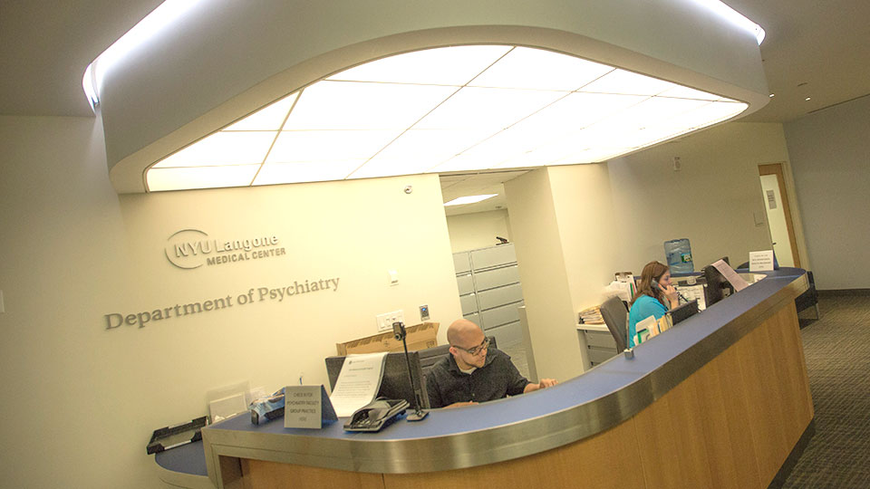 Department of Psychiatry Reception Desk