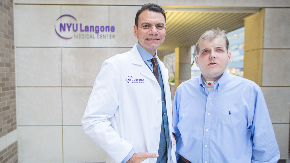 Dr. Rodriguez (left) and Patrick Hardison (right)