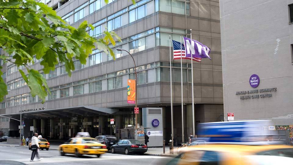 Exterior of NYU Langone's Tisch Hospital Building
