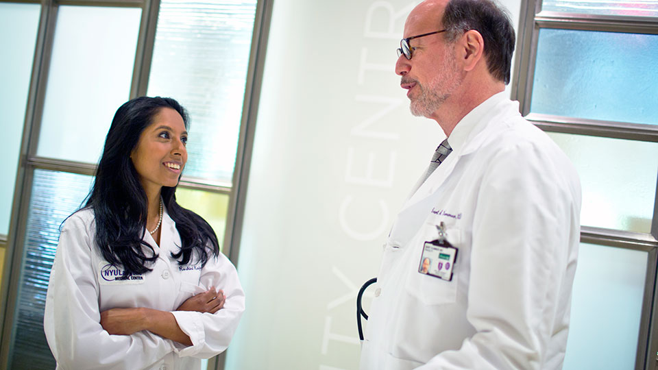Gastroenterologists Drs. Roshini Rajapaksa and Bart A. Kummer