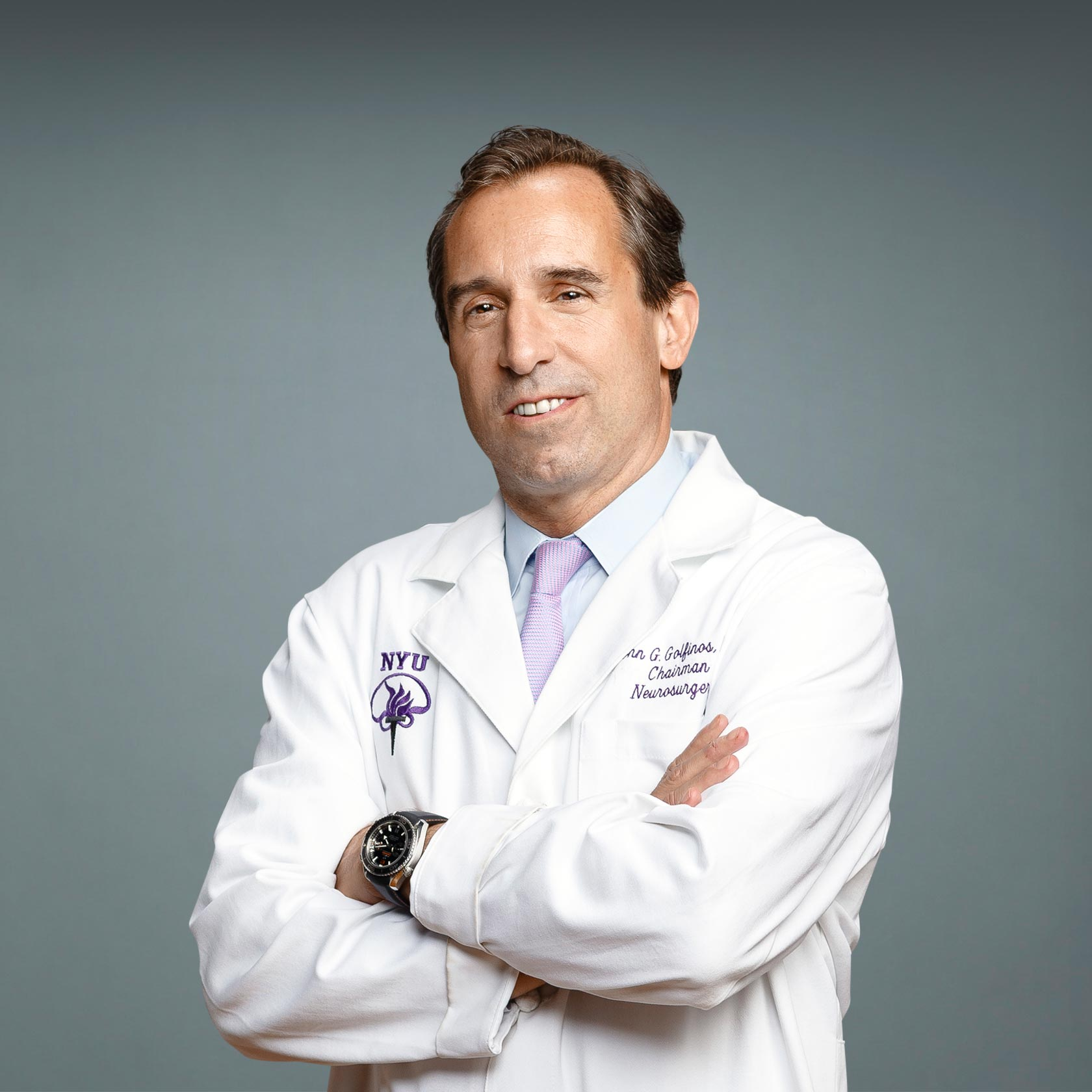 Neurosurgeon Dr. John Golfinos