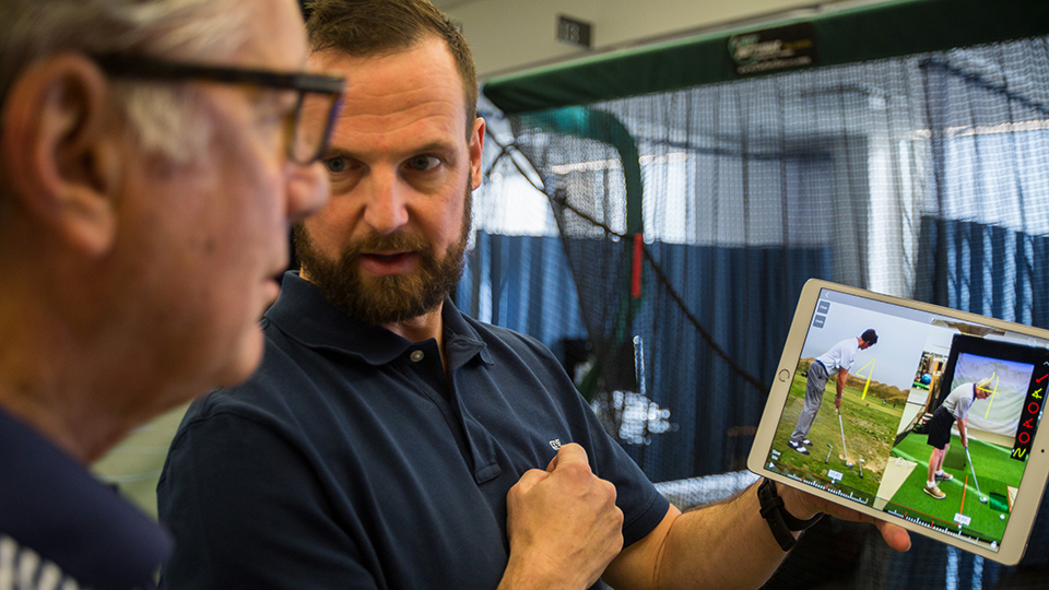 Golf Pro Scott Young Gives a Video Golf Swing Analysis