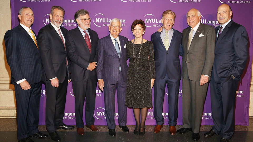 Guests and Honorees at the 2016 NYU Langone Musculoskeletal Ball