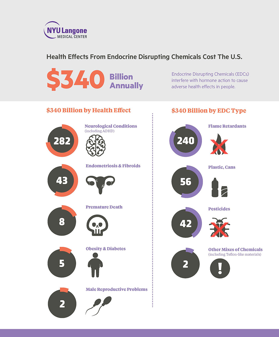 Healthcare Cost of Endocrine Disrupting Chemicals