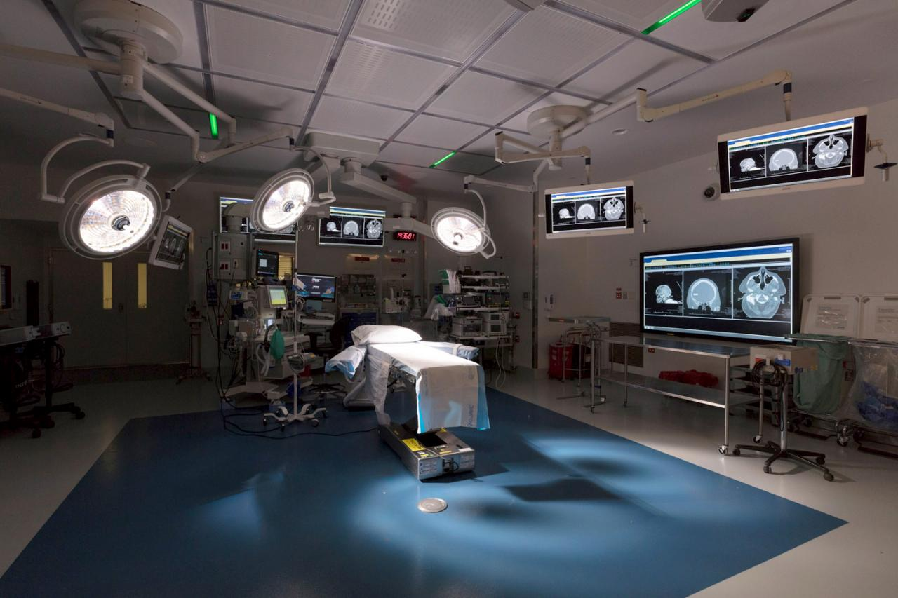 High-tech Neurosurgical Operating Room