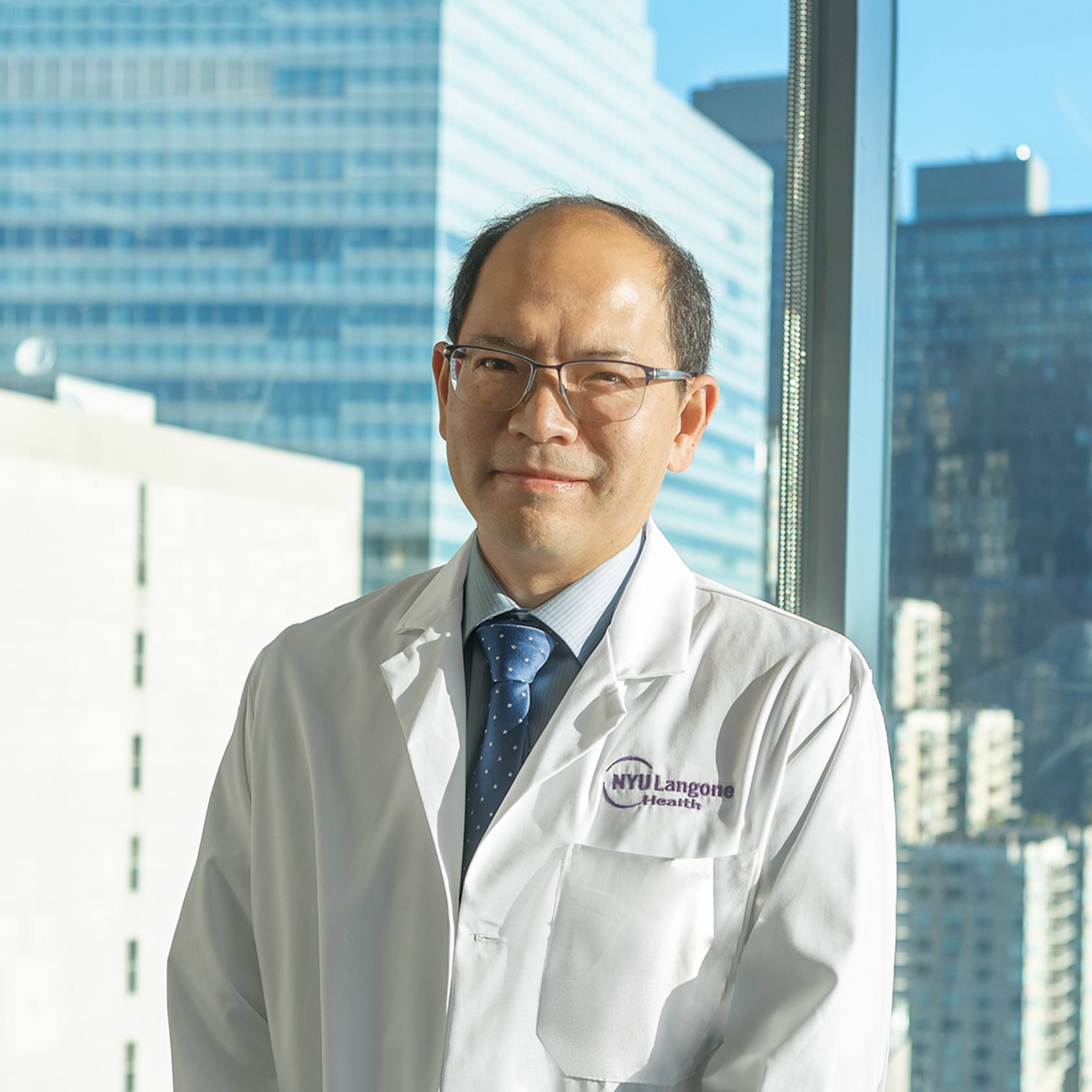 Oncologist Dr. Kwok-Kin Wong