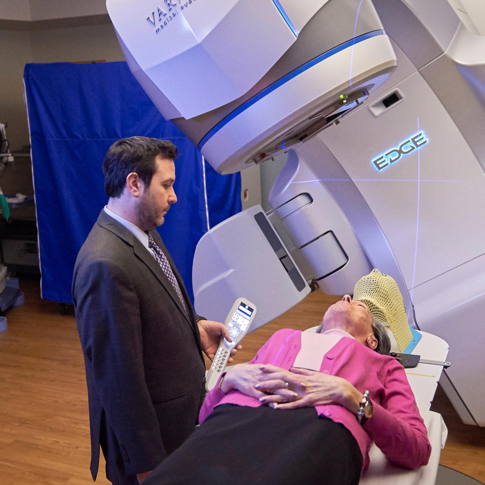 Laryngeal Cancer Radiation Therapy