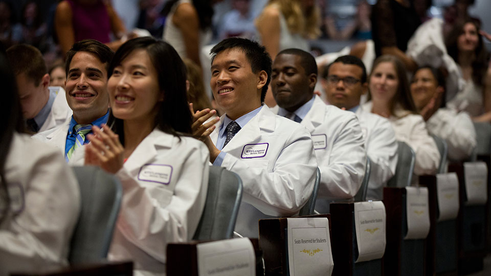Medical Students at White Coat Ceremony
