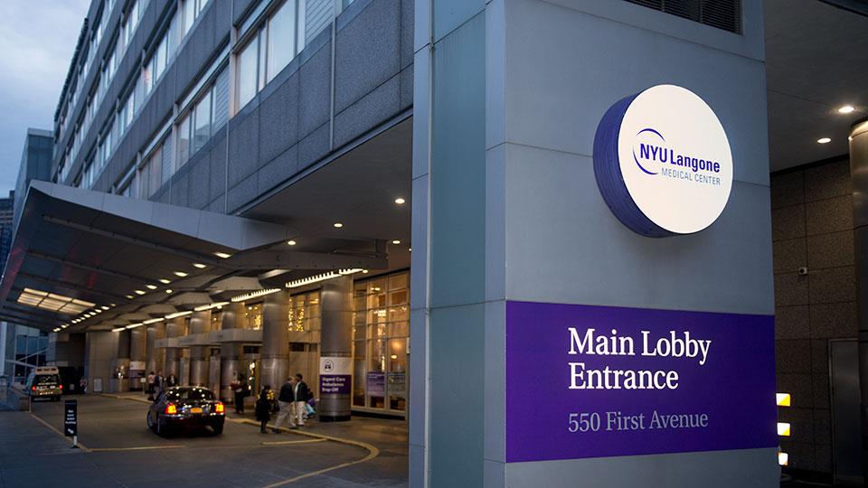NYU Langone Tisch Hospital Main Entrance