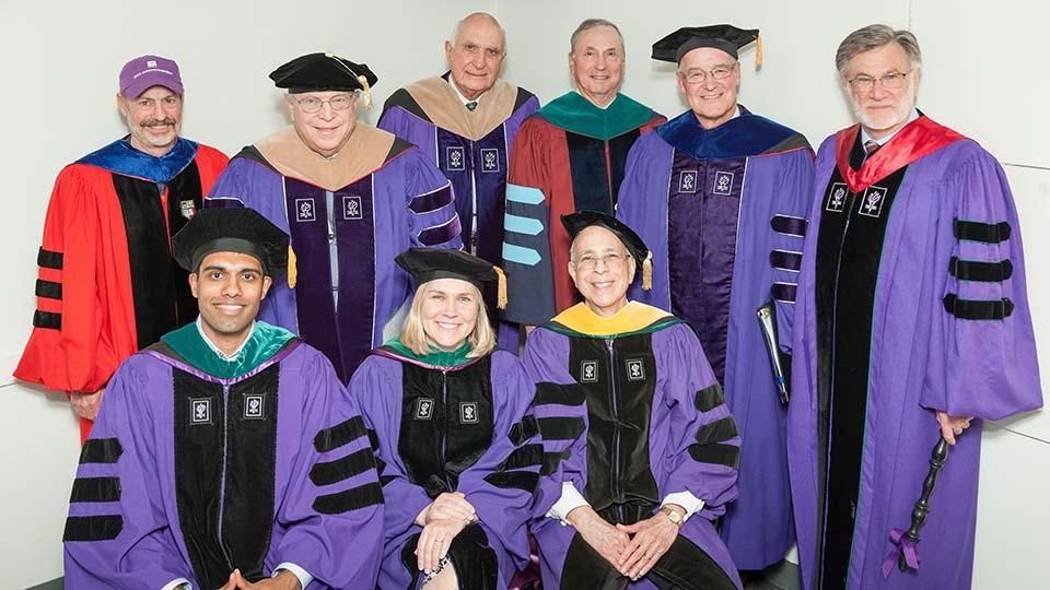 NYU School of Medicine faculty and graduate