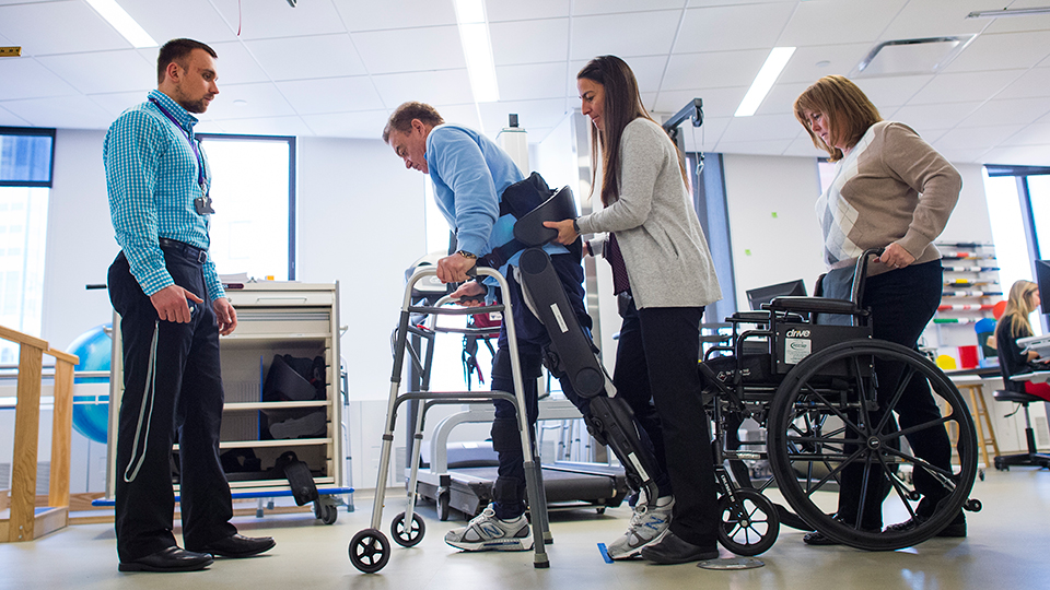 Patient Rehabilitation with Exoskeleton