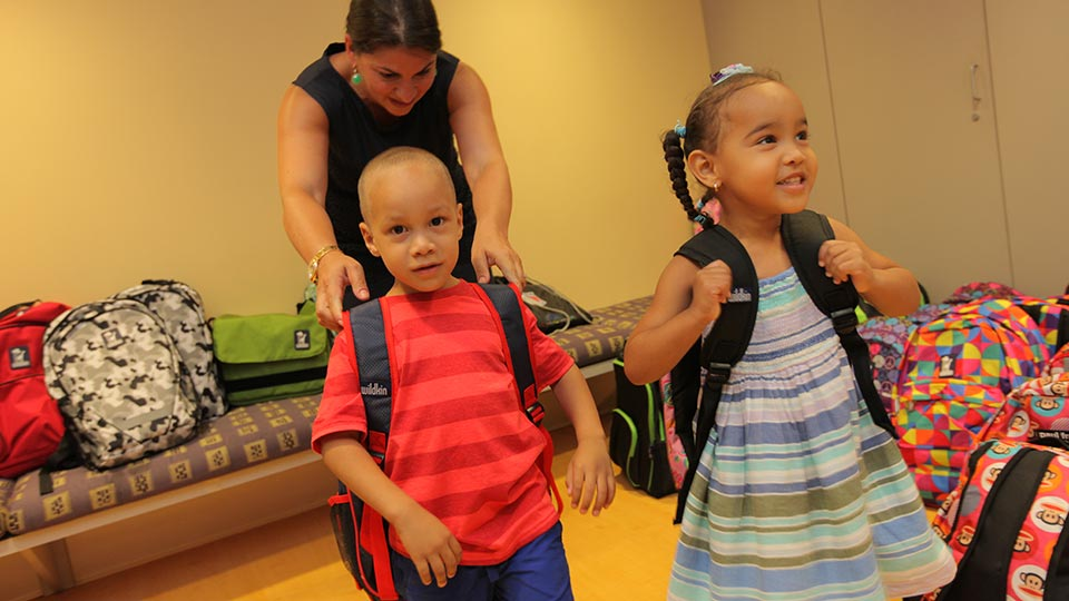 Patients at Back to School Blast
