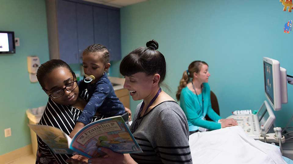 Pediatric Patient Reading Book