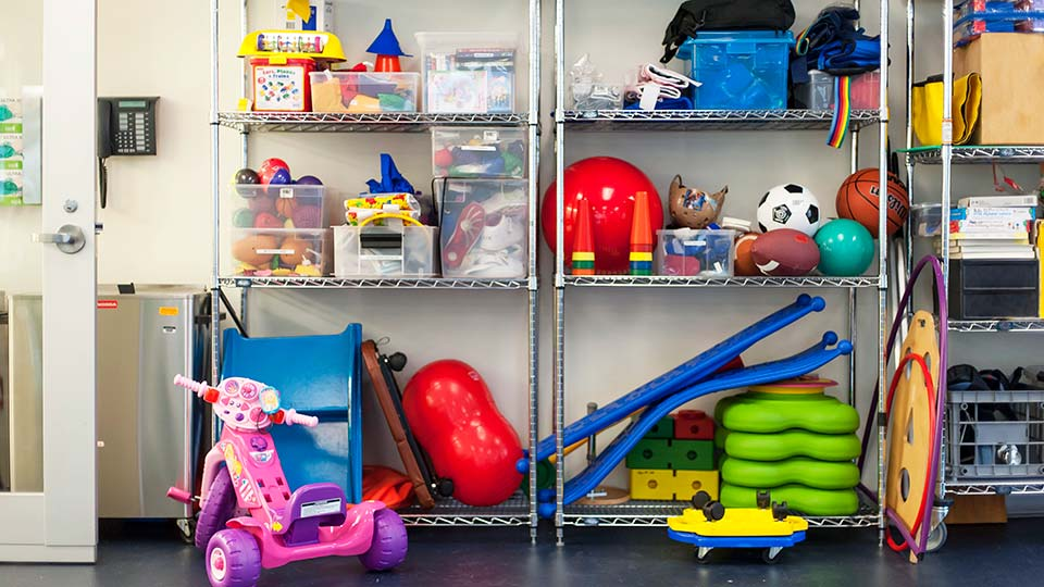 Pediatric Physical and Occupational Therapy Equipment