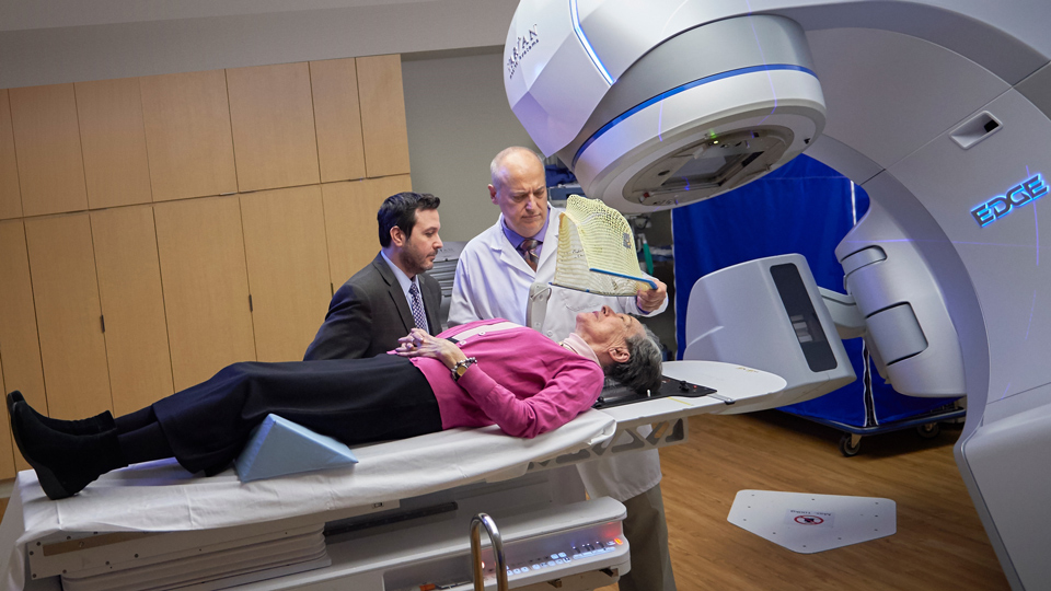 Radiation Oncologists Target Radiation to Brain Tumors