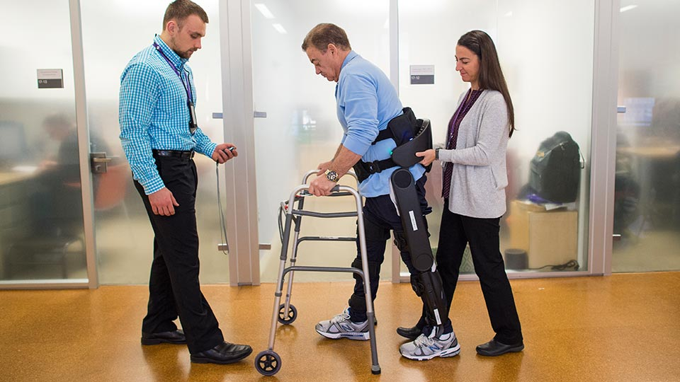 Rusk Rehabilitation Patient with Spinal Cord Injury
