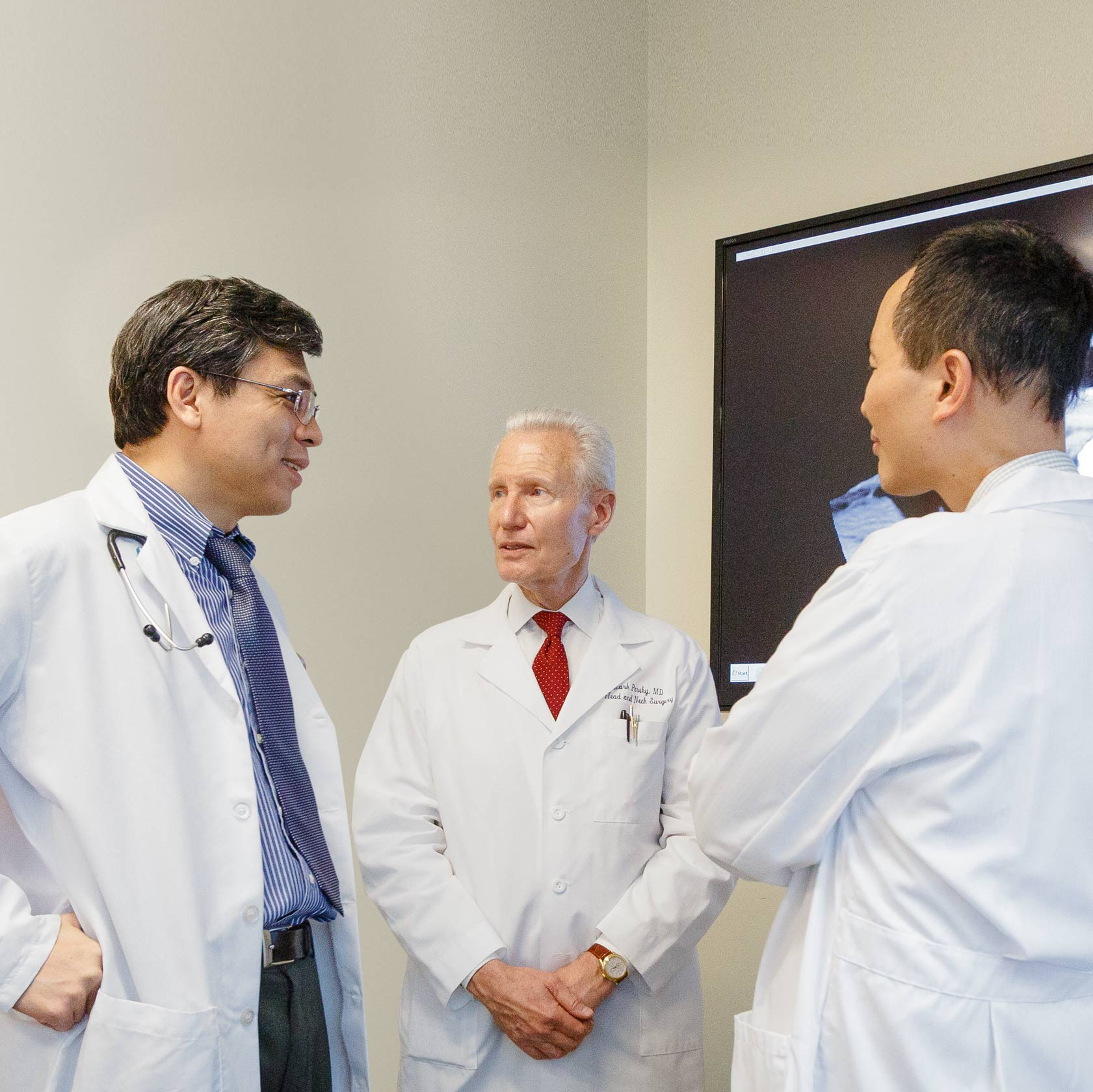 Dr. Zujun Li, Dr. Mark Persky, and Dr. Kenneth Hu