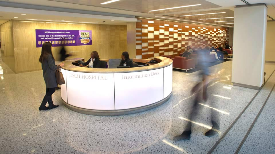 Tisch Hospital Information Desk