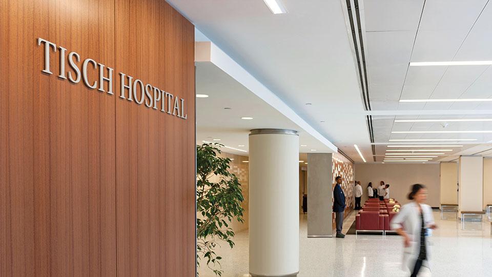 Tisch Hospital Interior