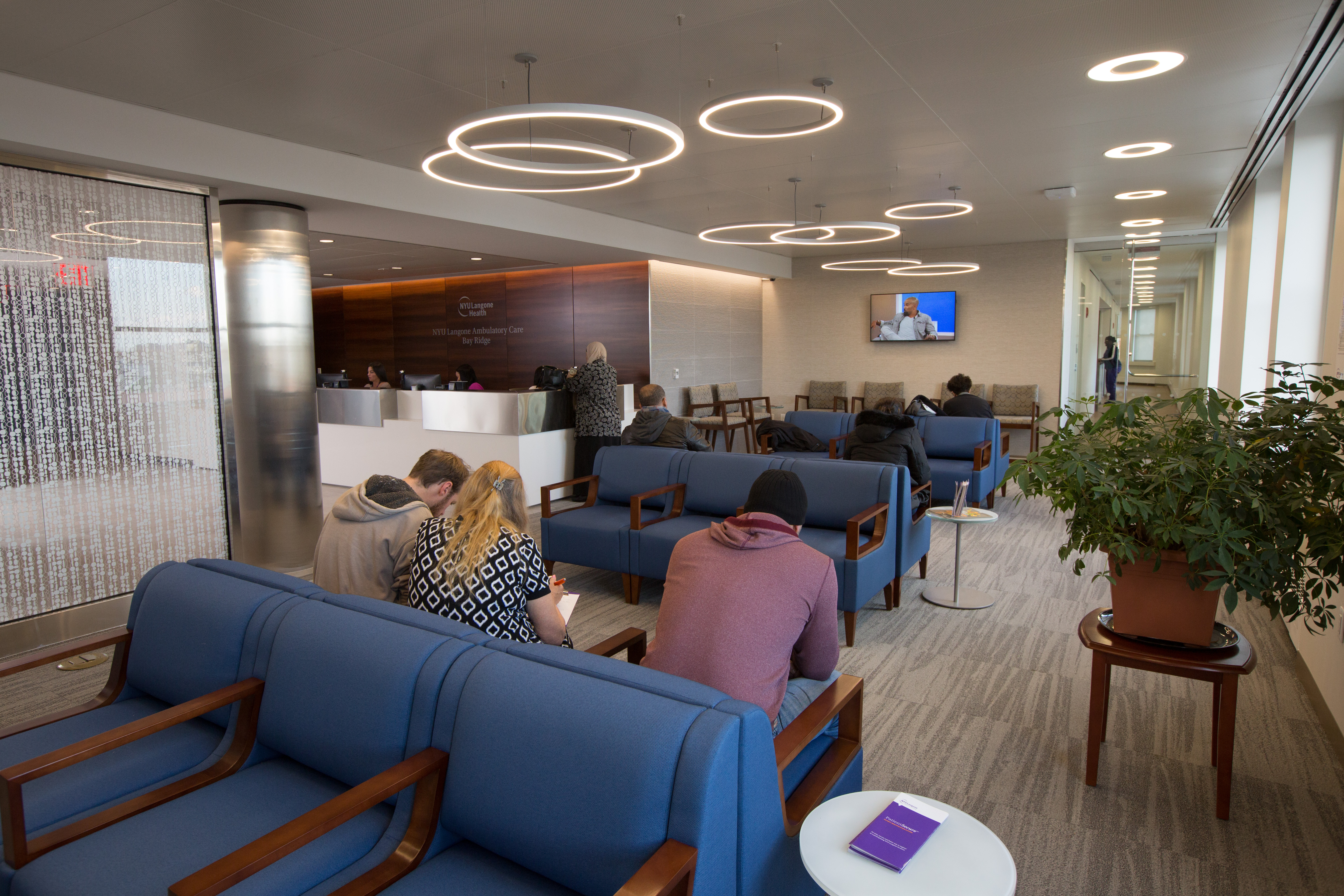 Waiting Area at NYU Langone Ambulatory care Bay Ridge