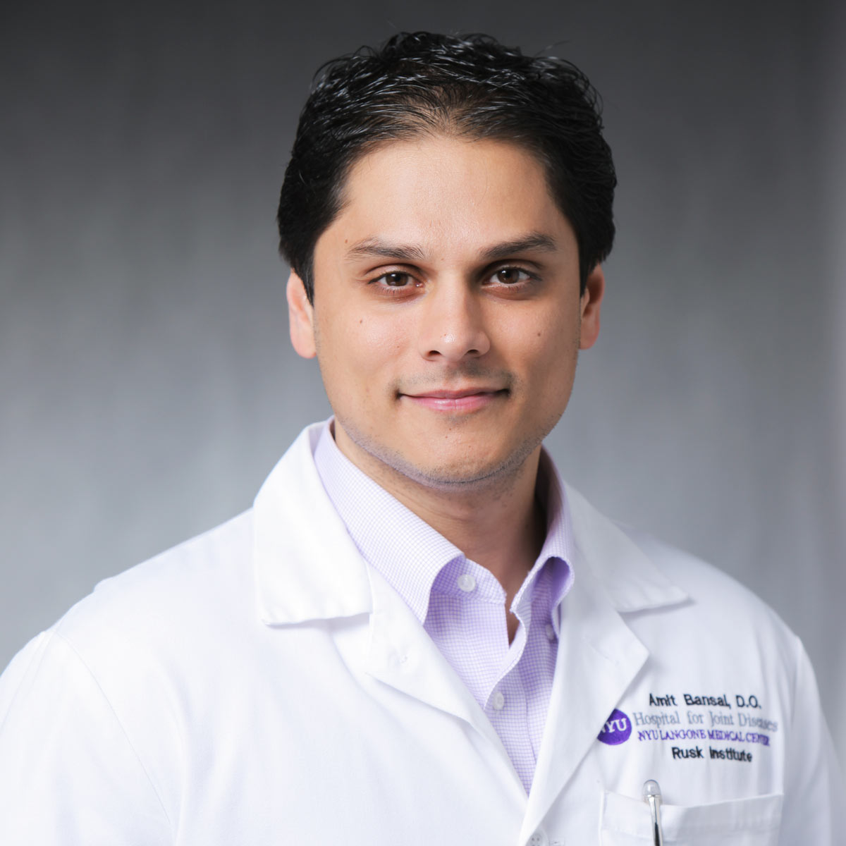 Amit Bansal at [NYU Langone Medical Center]
