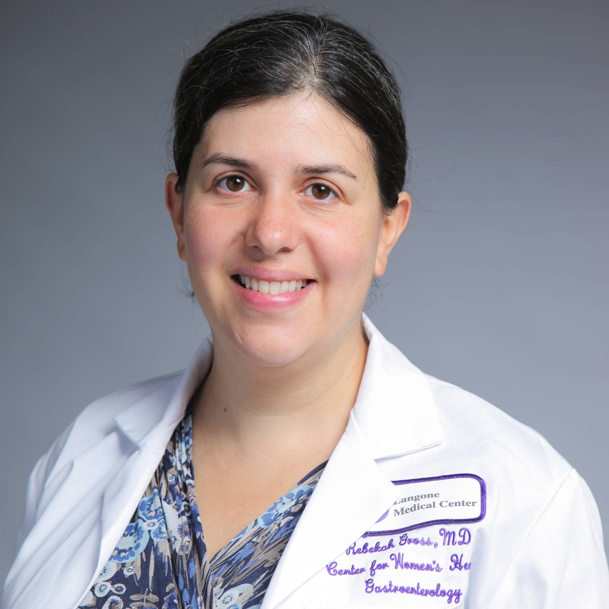 Rebekah Gross at [NYU Langone Medical Center]