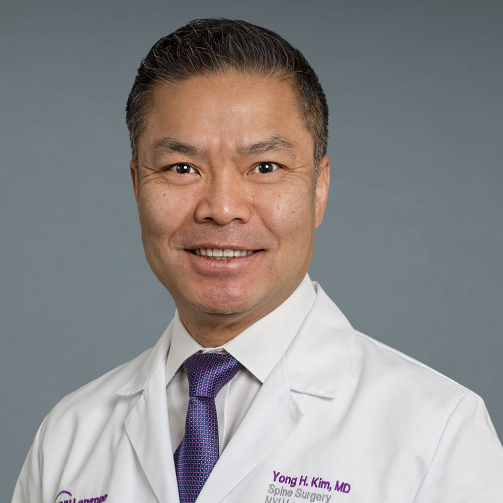 Yong H. Kim,MD. Orthopedic Surgery, Spine Surgery