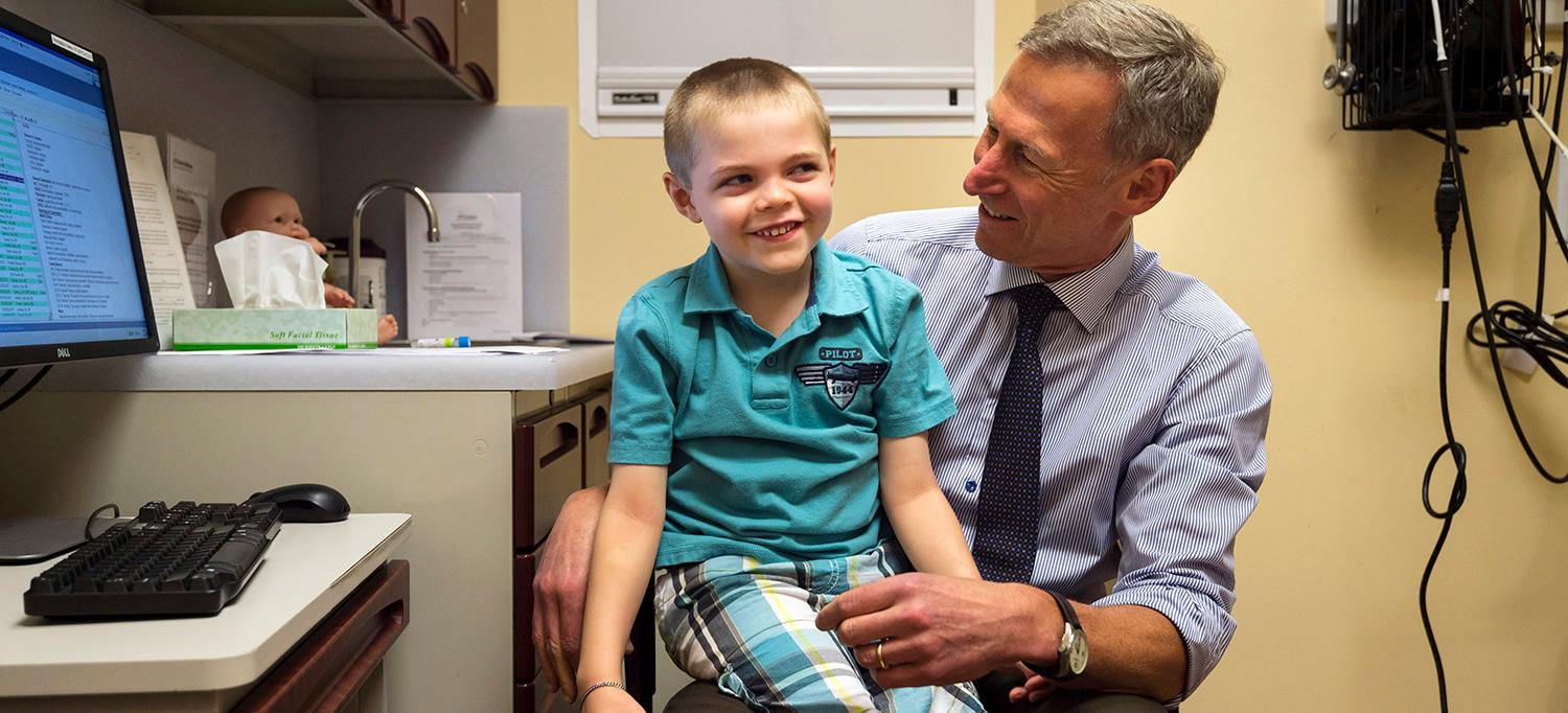 Epileptic Patient Liam O'Brien with Dr. Orrin Devinsky