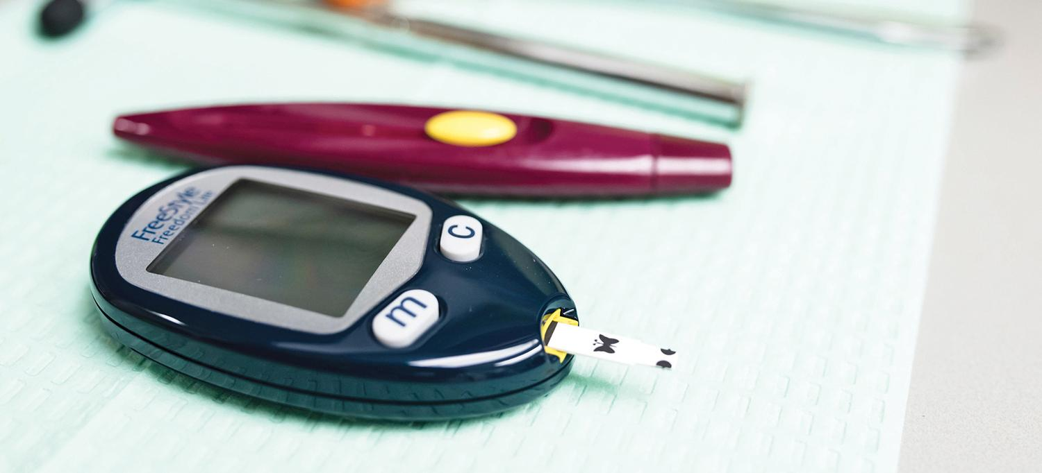 Glucose Meter for Diabetic Patients