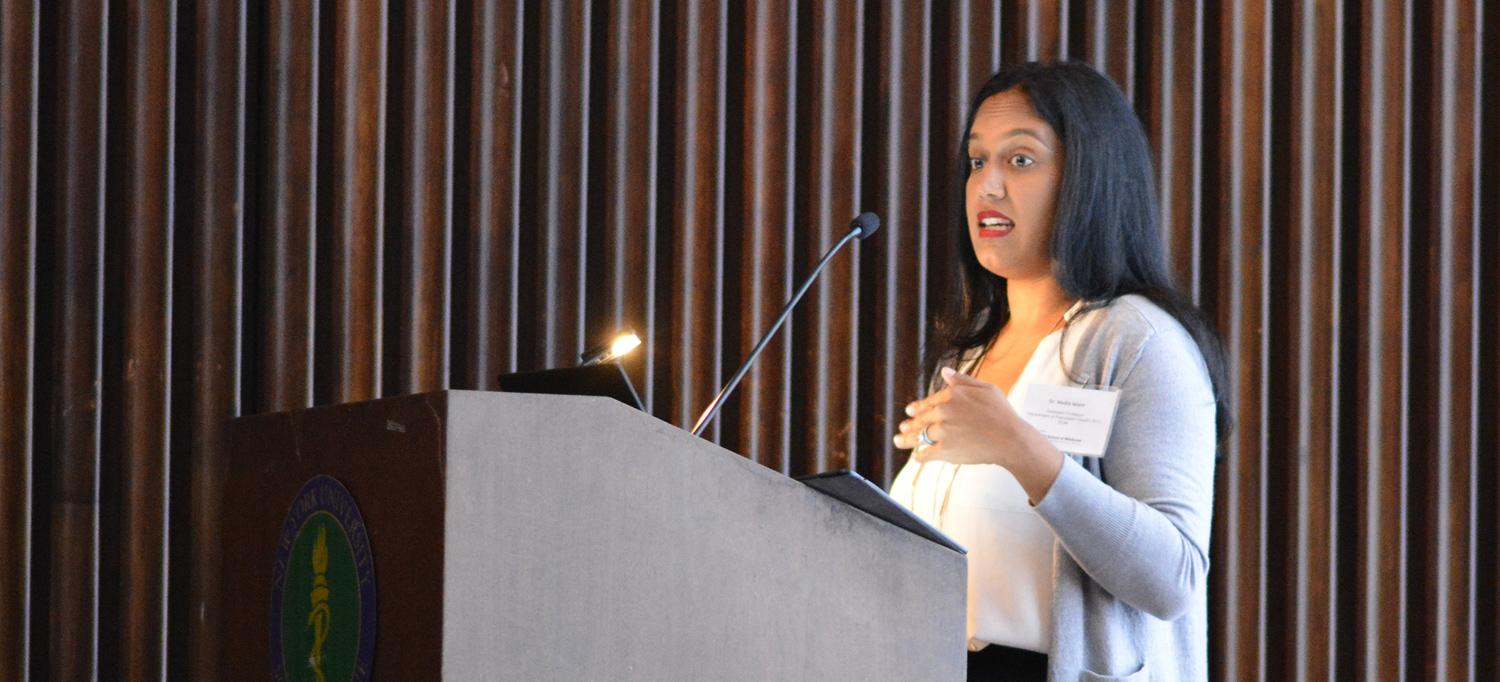 Dr. Nadia Islam Speaks at Symposium