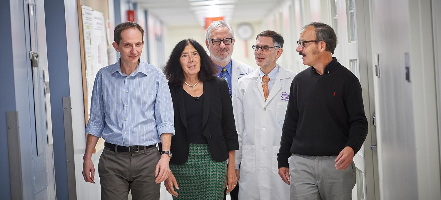 Dr. Boris Reizis, PhD, Dr. Jill P. Buyon, Dr. Gregg J. Silverman, Dr. Peter M. Izmirly and Dr. Robert M. Clancy