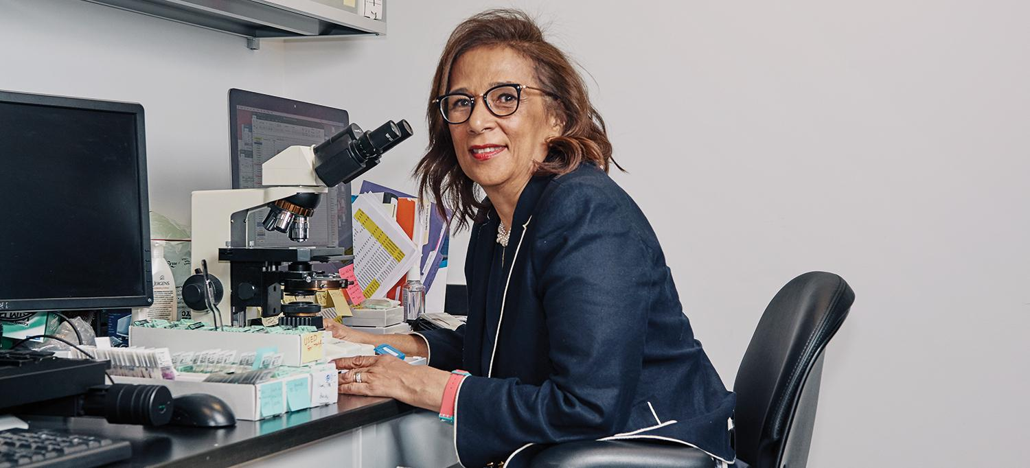 Dr. Iman Osman at Center for Biospecimen Research and Development