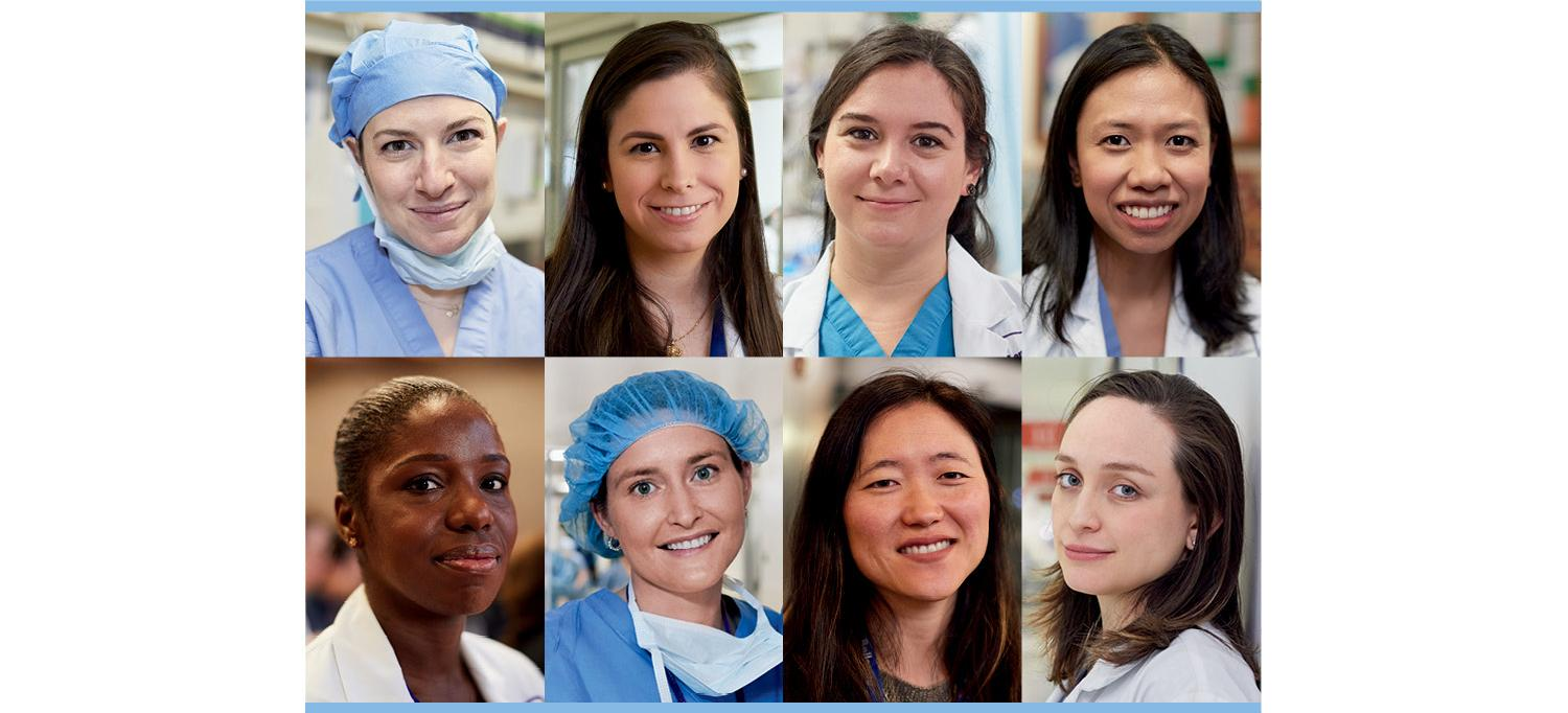 The Eight Female Chief Surgical Residents