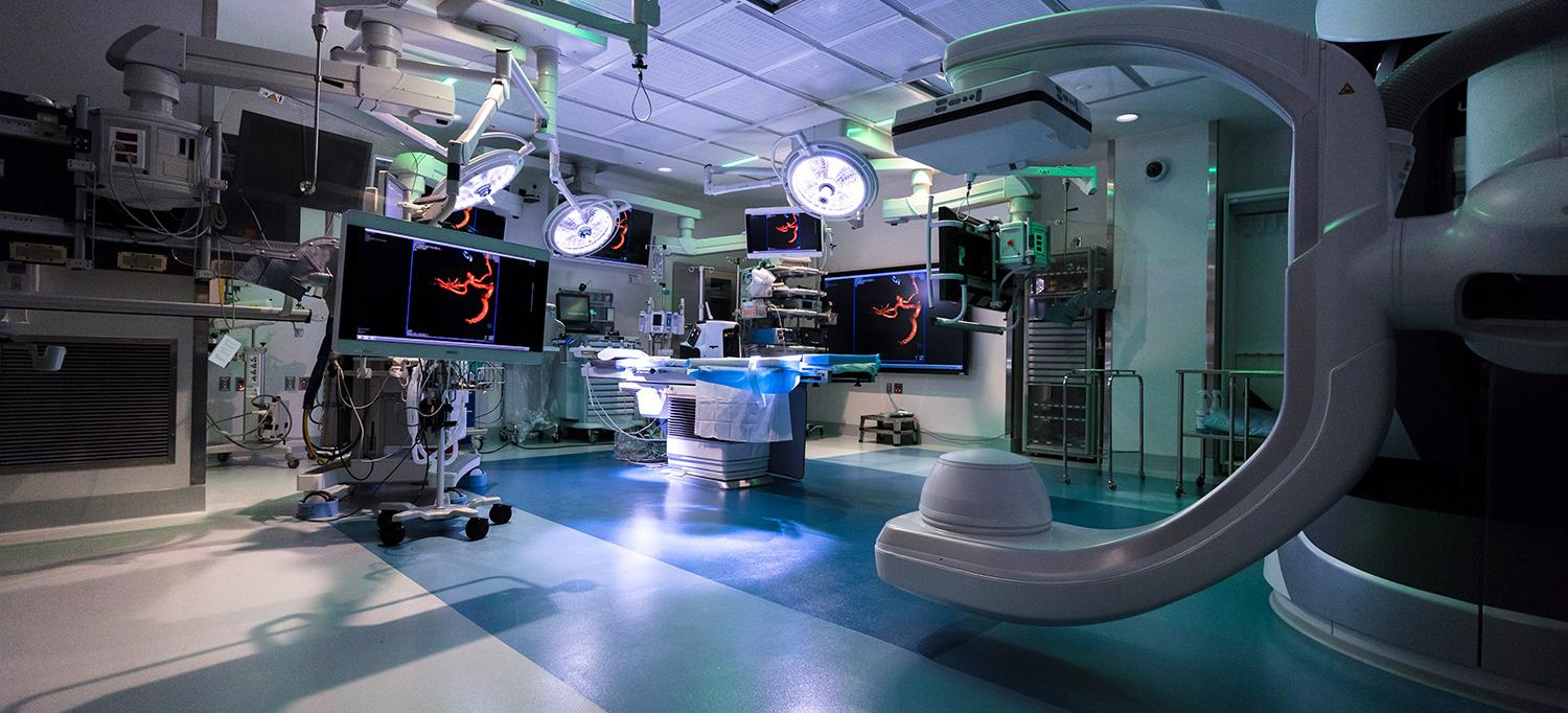 Neurovascular Surgery Room
