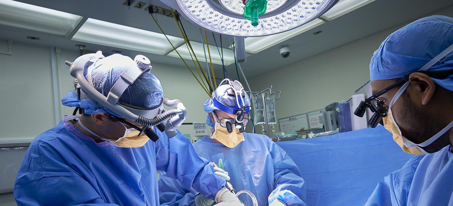 Spine Center Experts Perform Surgery