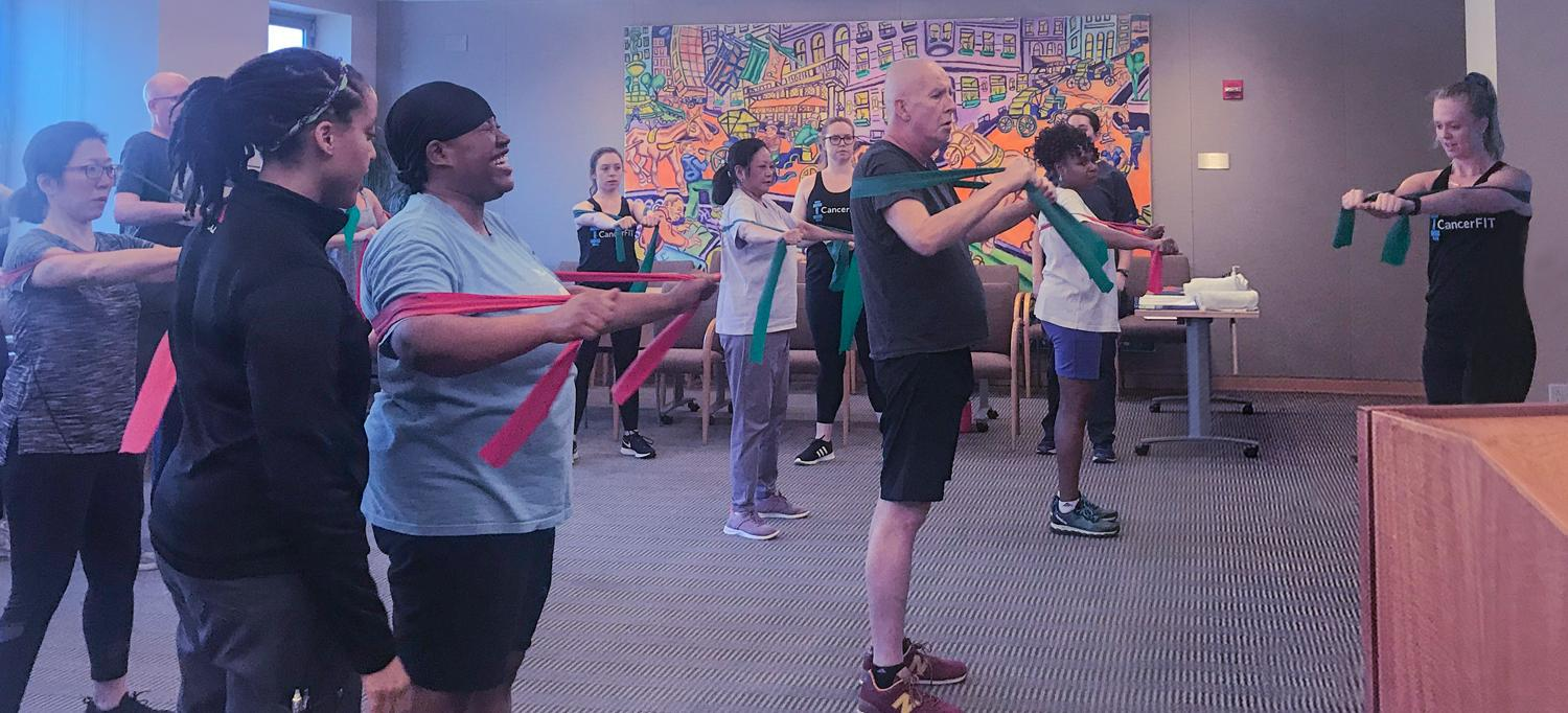 CancerFIT Exercise Class at Perlmutter Cancer Center