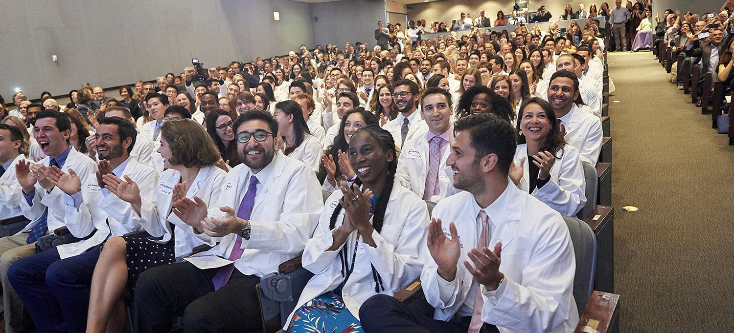 Medical Students Applauding