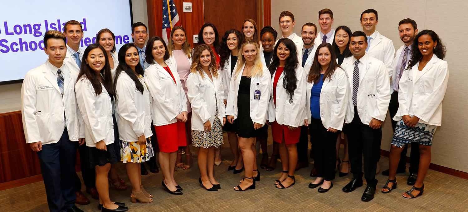 NYU Long Island School of Medicine First-Year Medical Students