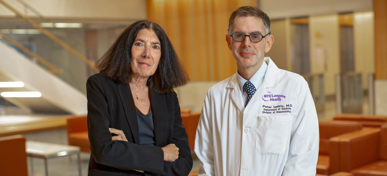 Dr. Jill Buyon and Dr. Peter Izmirly