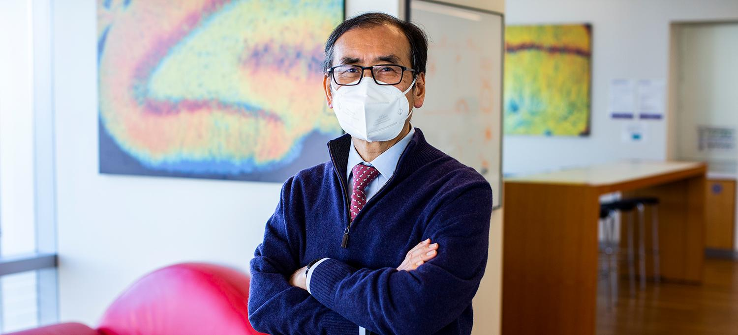 Dr. Un Jung Kang Wearing Face Mask