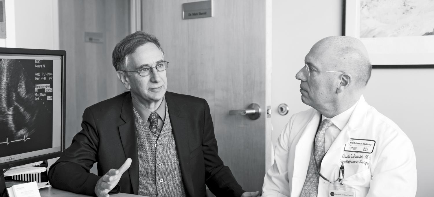 Cardiologists Dr. Mark Sherrid and Dr. Daniel Swistel of the Hypertrophic Cardiomyopathy Program