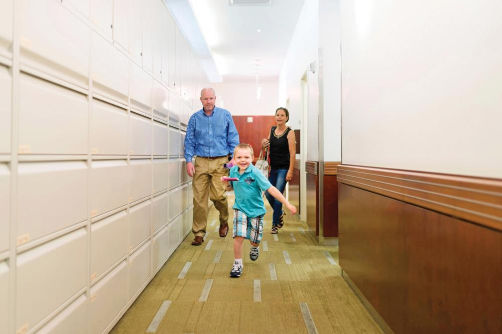 Pediatric Patient Liam O'Brien Smiles and Runs Through Halls of Comprehensive Epilepsy Center